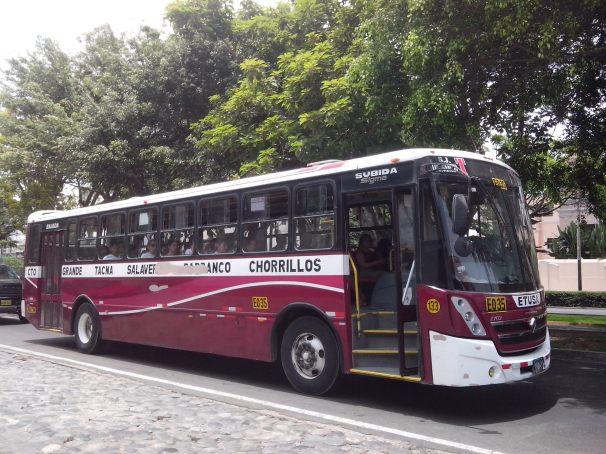 gli autobus a Lima si chiamano